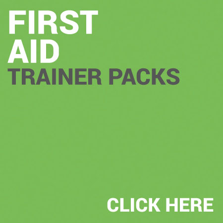 First Aid Trainer Packs